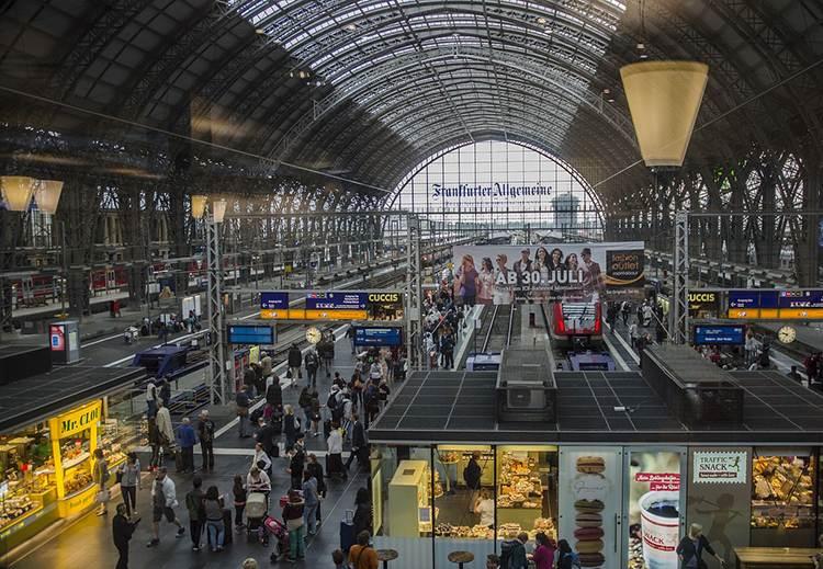 stacja kolejowa Frankfurt nad Menem ciekawostki o Frankfurcie nad Menem