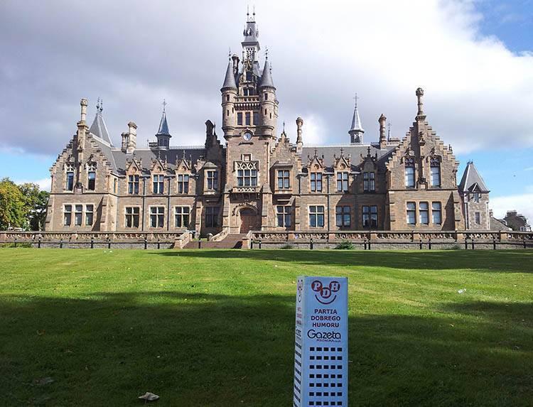 Dundee Morgan Academy Szkocja ciekawostki Scotland