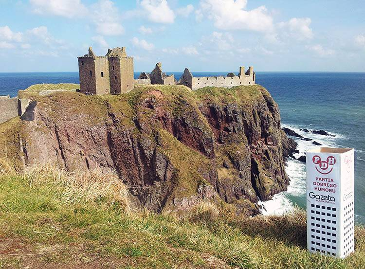 Dunottar zamek Szkocja ciekawostki