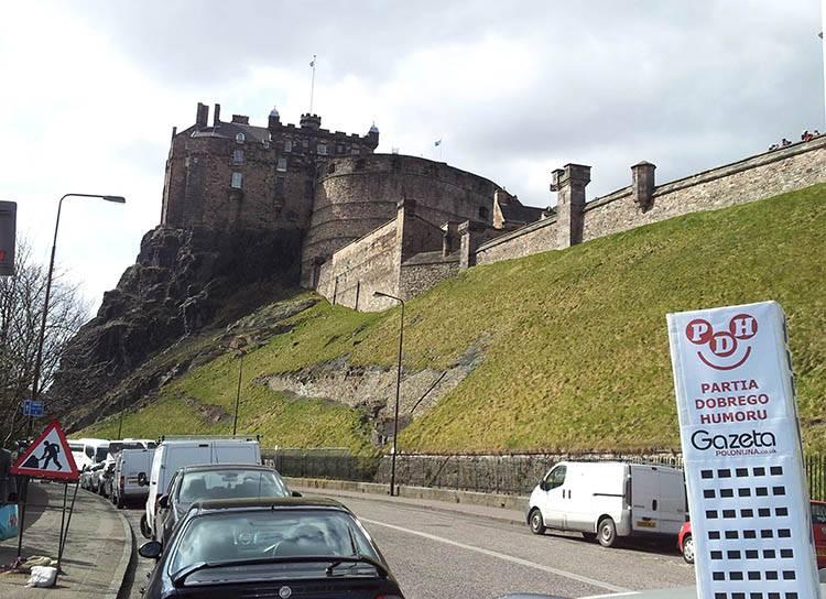 Edynburg Edinbourgh Szkocja ciekawostki zamek Scotland