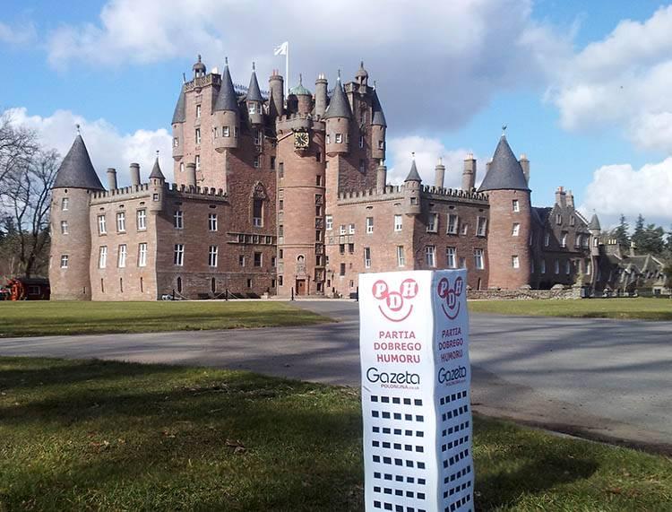 Forfar zamek Glamis Szkocja ciekawostki