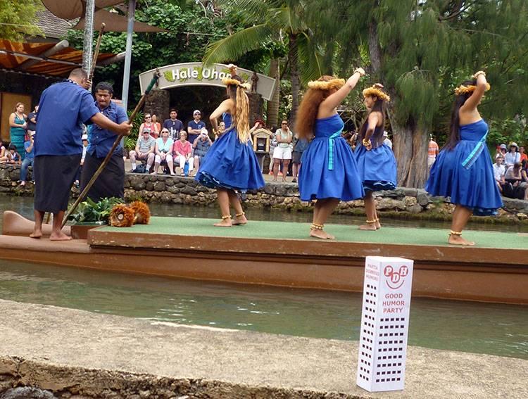 O'ahu Hawaje ciekawostki USA Laie Centrum Kultury Polinezji