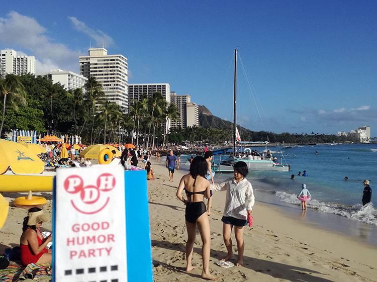 Waikiki Beach O'ahu Hawaje ciekawostki USA