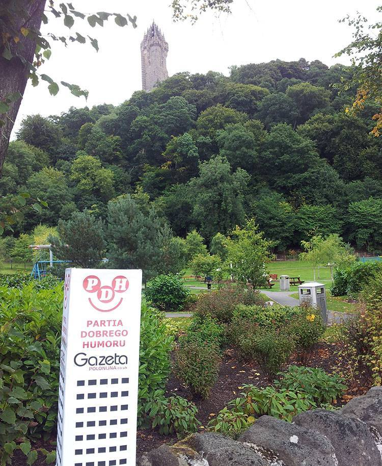 Wallace Monument Szkocja ciekawostki Scotland