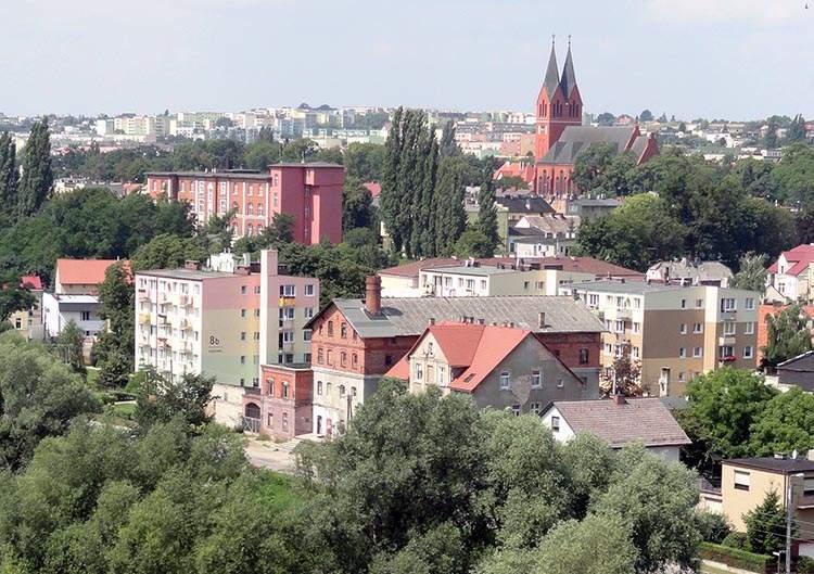 Świecie ciekawostki kościół panorama