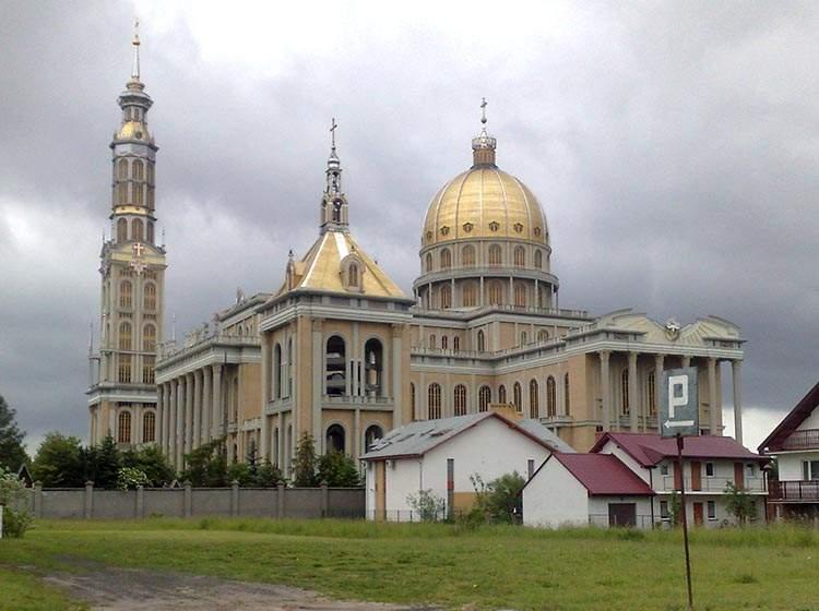 Licheń ciekawostki bazylika kościół
