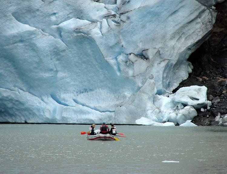 lodowiec Briksdalsbreen Norwegia Park Narodowy Jostedalsbreen
