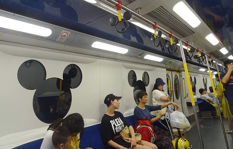 MTR Hong Kong Disneyland metro bilet podróże ciekawostki Airport Express