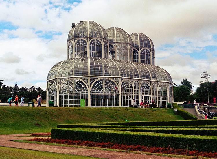 ogród botaniczny Kurytyba ciekawostki Brazylia