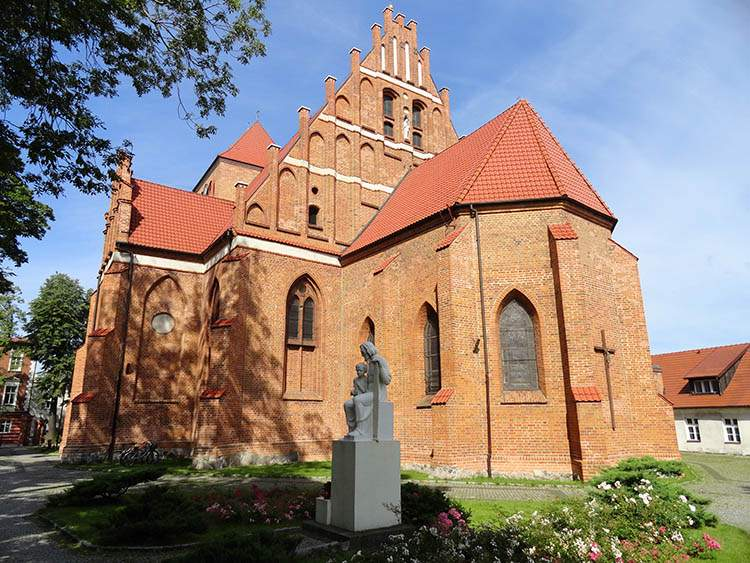 Puck ciekawostki fara kościół w Pucku
