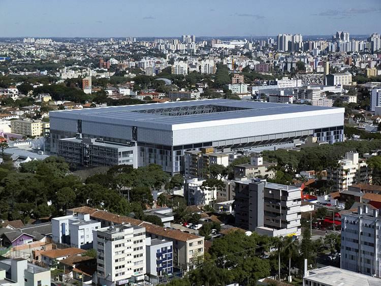 Kurytyba ciekawostki Brazylia stadion arena de baixada