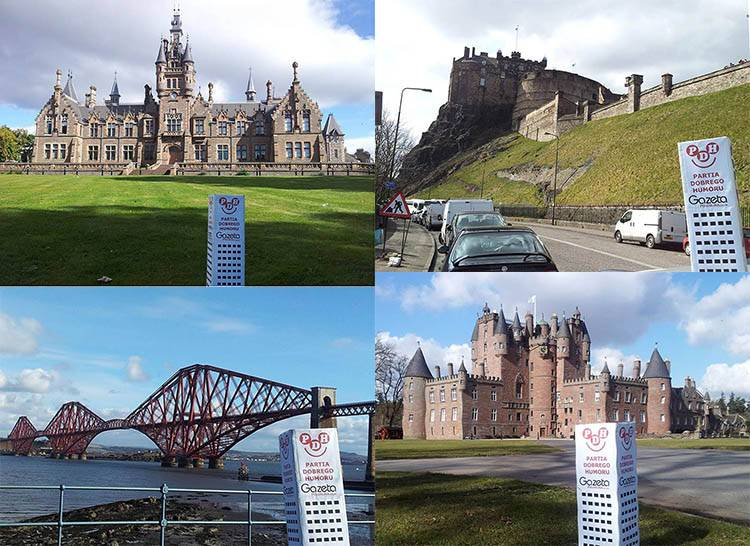 Szkocja ciekawostki zamki w Szkocji