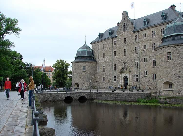 zamek Orebro Szwecja