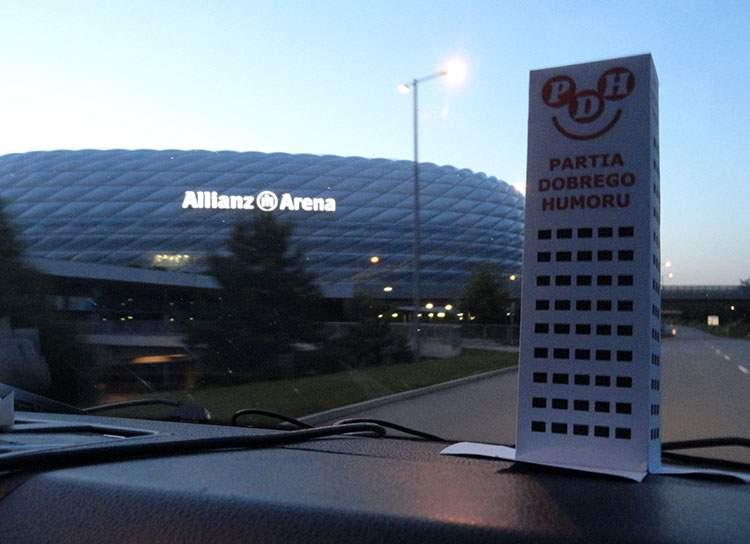 stadion Allianz Arena München Monachium Niemcy Germany