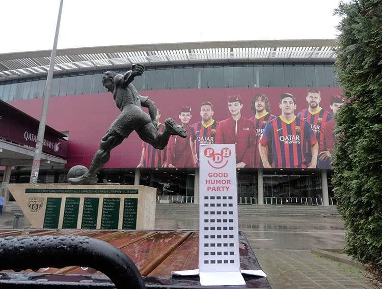 Camp Nou Barcelona Hiszpania Barca Cataluna Spain