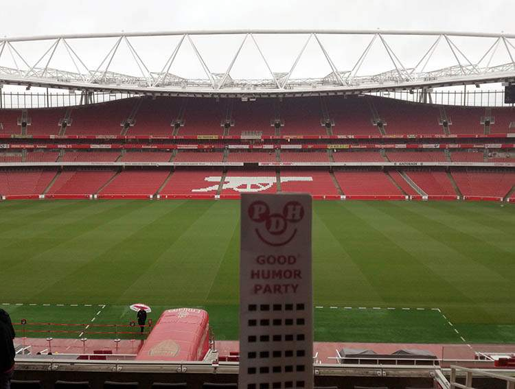 Emirates Stadium Arsenal London stadion Londyn Anglia UK