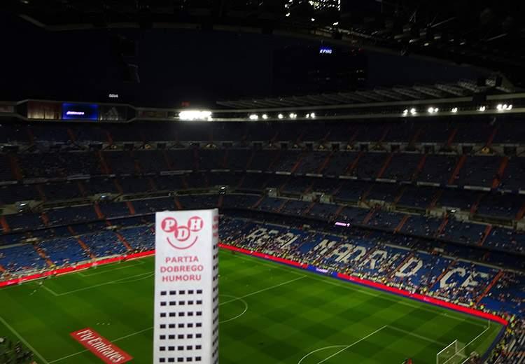 stadion Estadio Santiago Bernabeu Madryt Hiszpania Spain