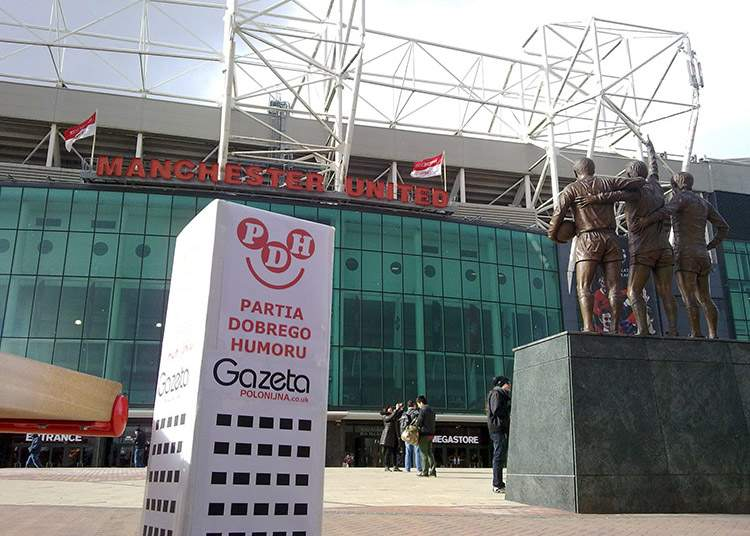 Manchester United Old Trafford Anglia England UK