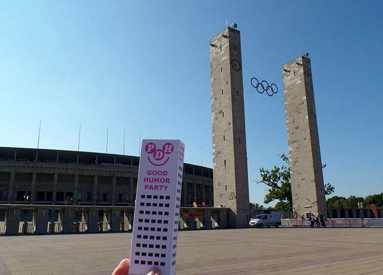 Stadion Olimpijski Hertha Berlin Niemcy Germany