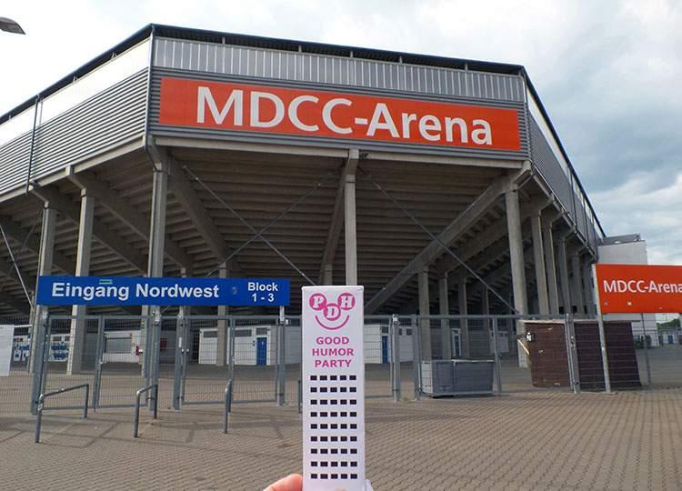 stadion MDCC Arena Magdeburg Germany piłka nożna Niemcy