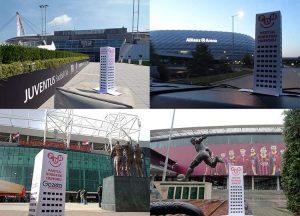 stadiony piłkarskie Europa stadion piłka nożna