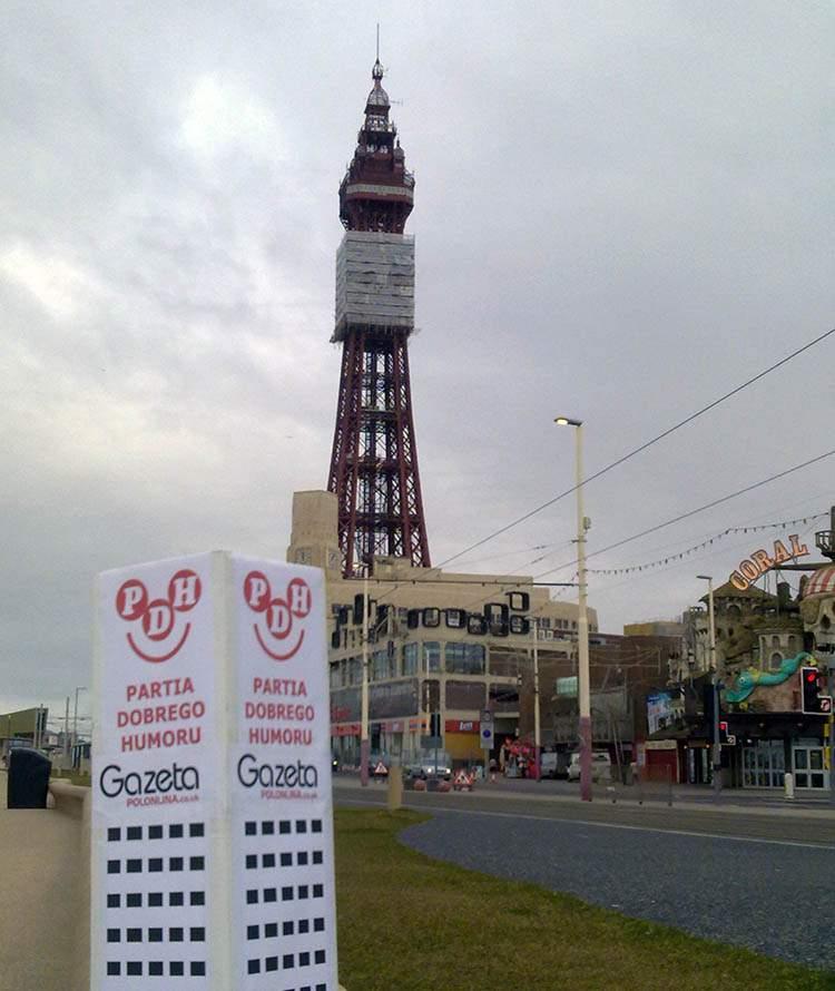Blackpool Anglia podróże po Anglii