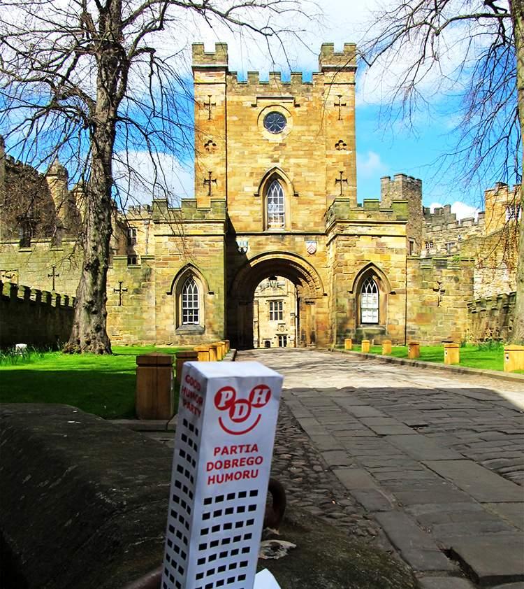 Durham Anglia podróże po Anglii