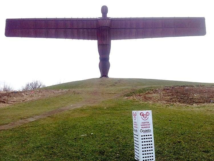 Gateshead Anglia podróże po Anglii