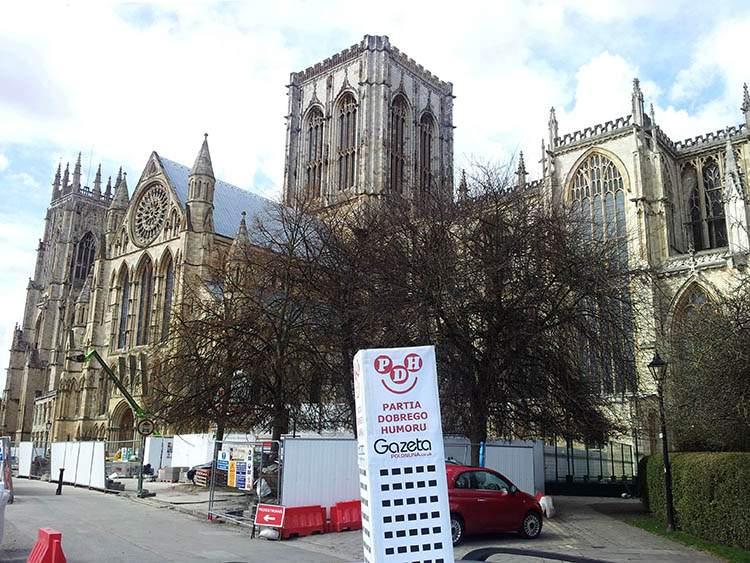 York katedra Anglia podróże po Anglii