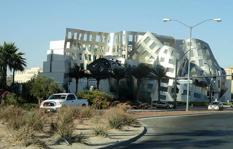 ciekawostki o Las Vegas kasyna Nevada Frank Gehry