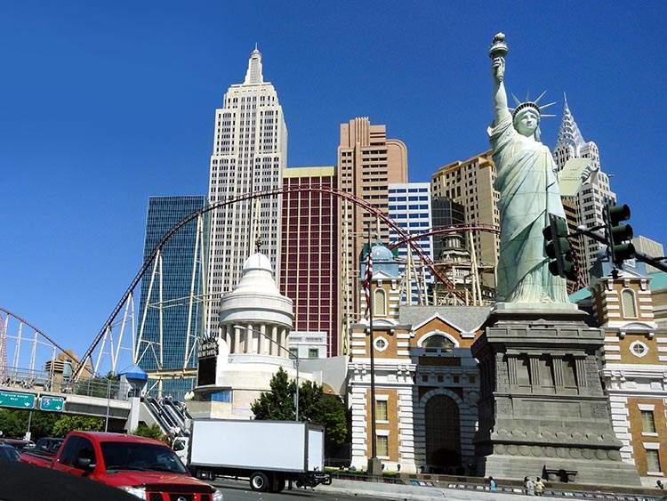 ciekawostki o Las Vegas kasyna Nevada New York