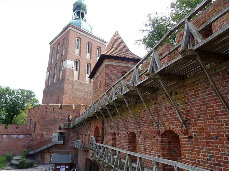 Frombork ciekawostki zamek
