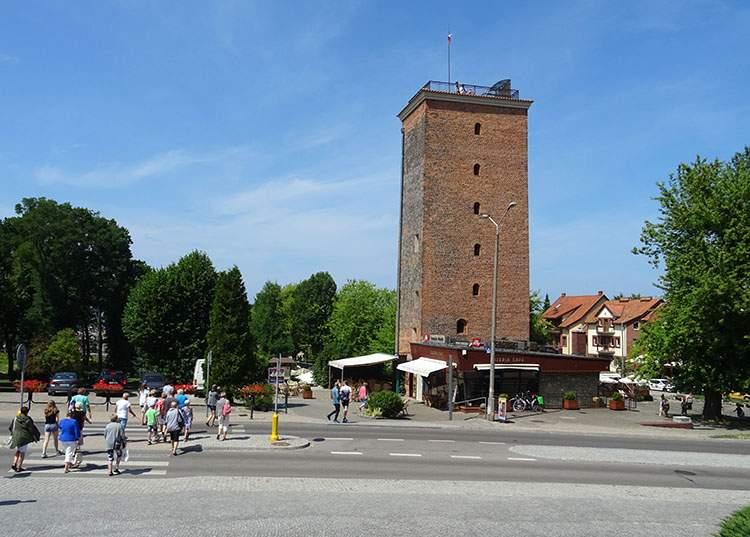 Frombork ciekawostki wieża wodociągowa