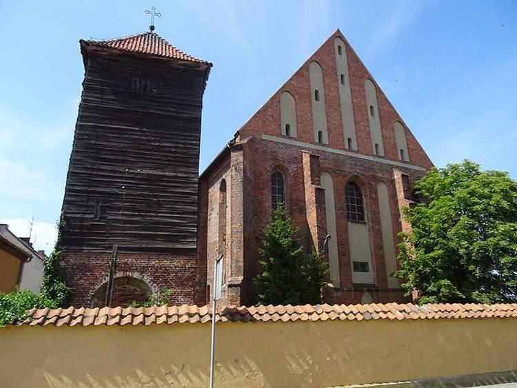 Frombork ciekawostki kościół