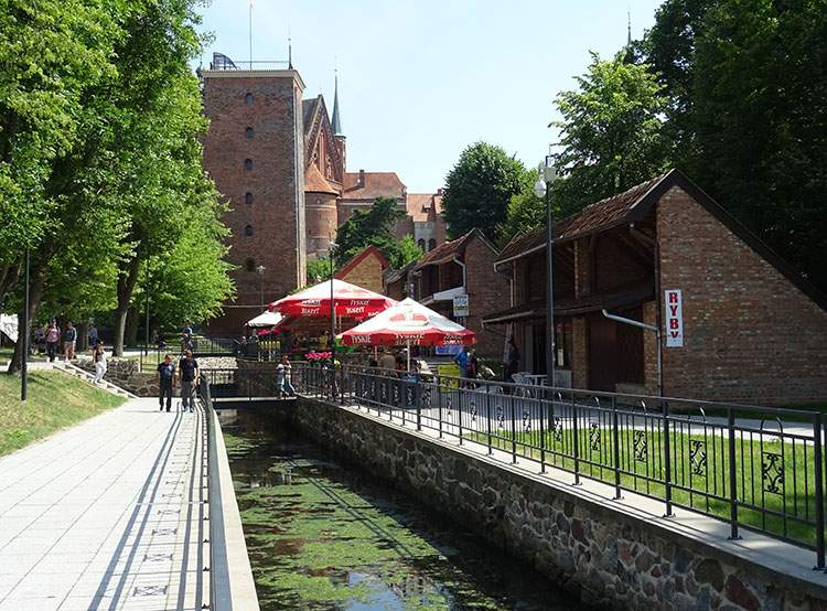 Frombork ciekawostki kanał