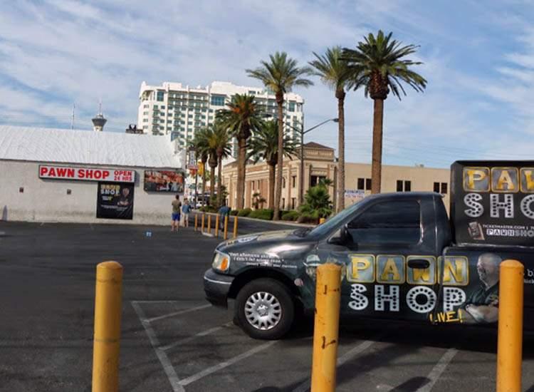 Las Vegas ciekawostki pawn-shop