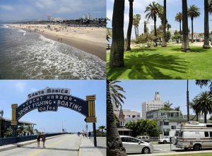 Santa Monica ciekawostki Kalifornia USA