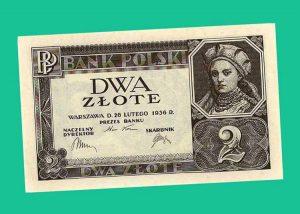 złotówka waluta historia złoty polski