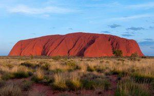 Australia ciekawostki o Australii góra Uluru