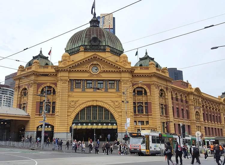 Australia ciekawostki o Australii Melbourne Central Station