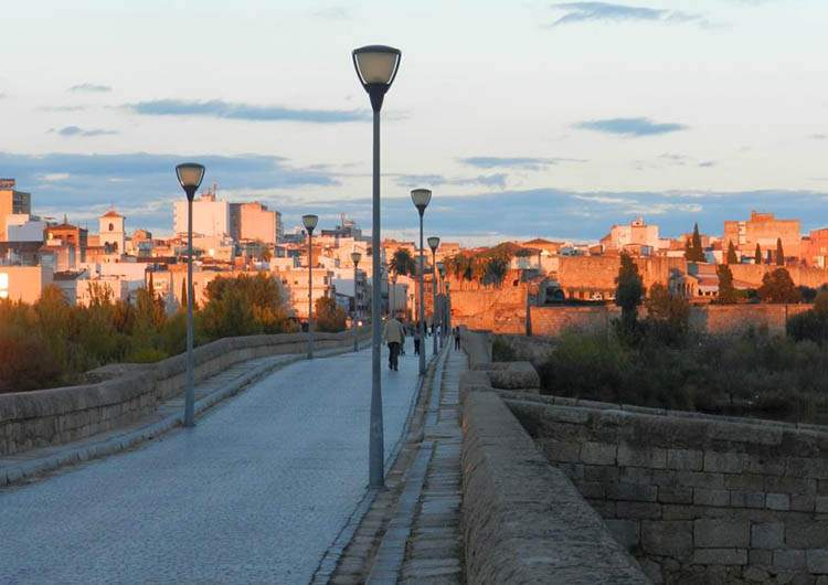 Merida Hiszpania Extramedura most rzymski