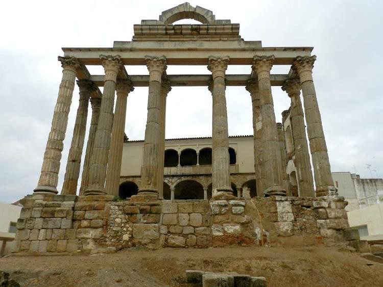 Merida Hiszpania Extramedura świątynia bogini Diany