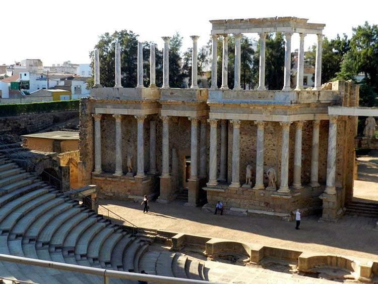 Merida Hiszpania Extramedura teatr rzymski