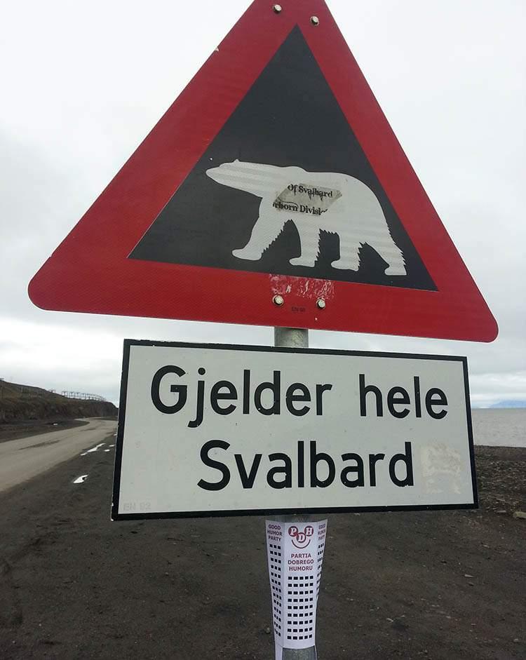 Spitsbergen ciekawostki Svalbard Norwegia