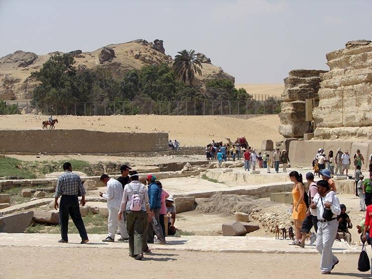 Wielki Sfinks Egipski ciekawostki Giza Egipt
