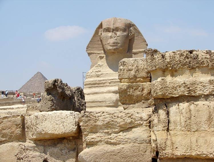 Wielki Sfinks Egipski ciekawostki Giza EgiptWielki Sfinks Egipski ciekawostki Giza Egipt