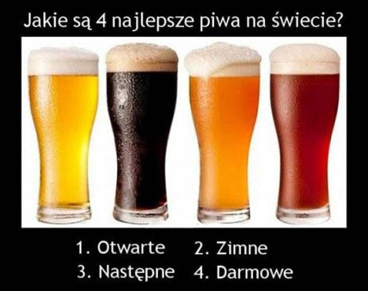 Najlepsze Dowcipy O Piwie Humor Piwny Piwo Kawały