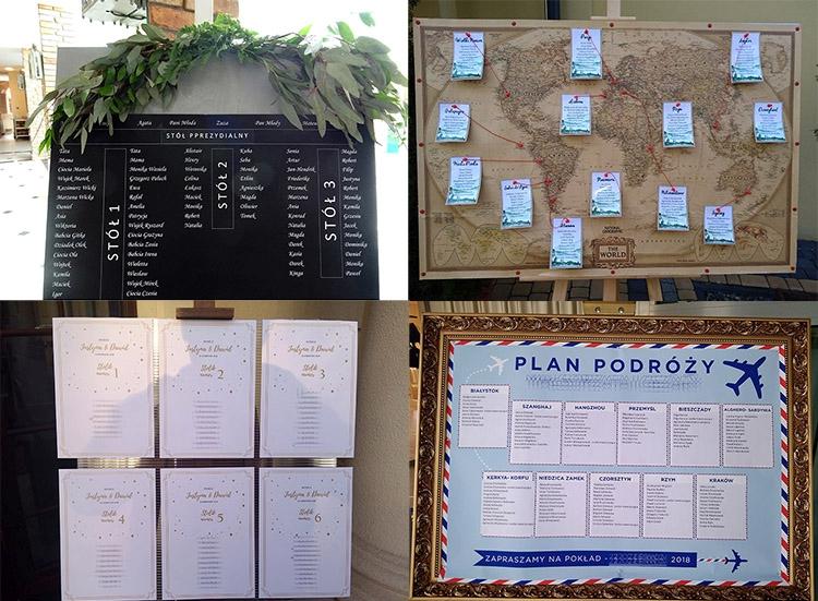 plan stołów weselnych wesele tablica weselna wesele