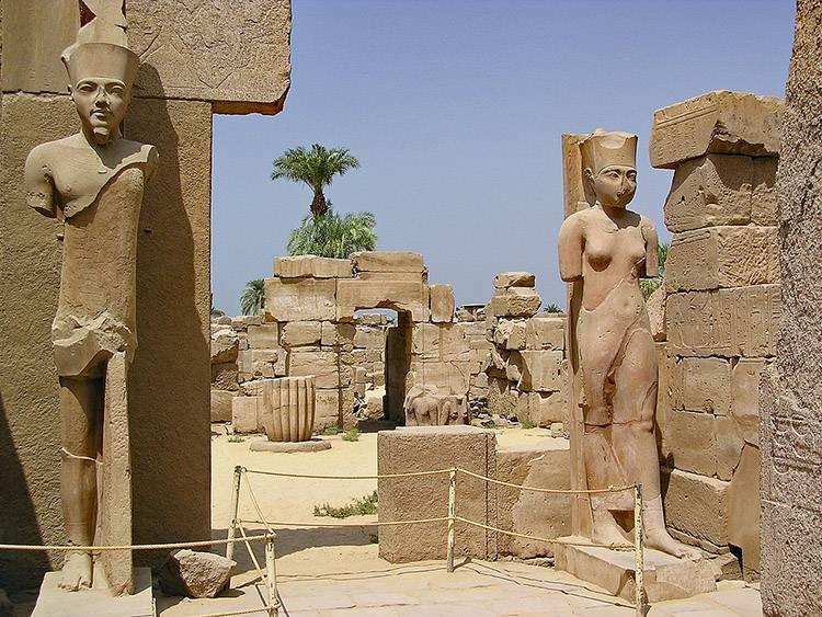 Karnak starożytny Egipt zabytki
