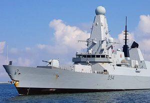 niszczyciel rakietowy HMS Diamond